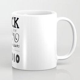 Kings of Leon hand-lettered print Coffee Mug