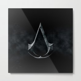 Assassins Creed Dark Stone  Metal Print