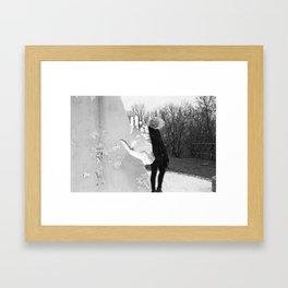 Blanka And The Hand Framed Art Print