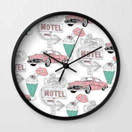 Motel Wall Clock