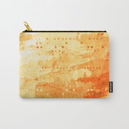 Fresh Orange -Abstract Texture Carry-All Pouch