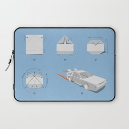 Origami DeLorean Laptop Sleeve