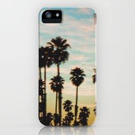 Palm Tree Sky iPhone Case