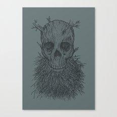 The Lumbermancer (Grey) Canvas Print