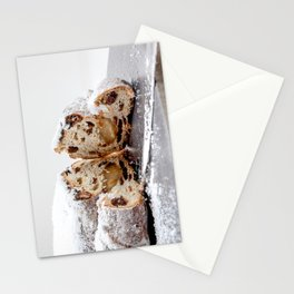 Christmas stollen Stationery Cards