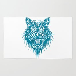 Marcel the cat wolf Rug