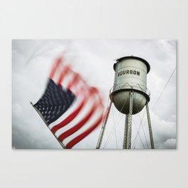 Bourbon USA Canvas Print
