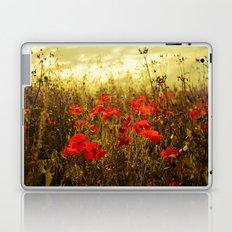 Poppy Glow Laptop & iPad Skin