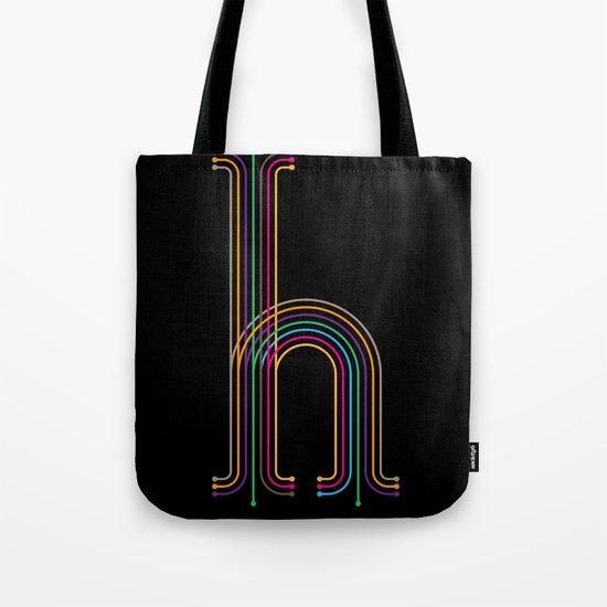 H like H Tote Bag