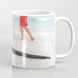 Galapagos wildlife beach Coffee Mug