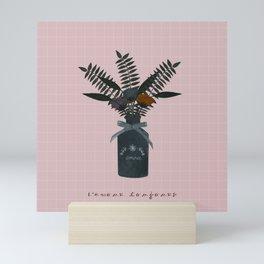 L'amour toujours - Art print lovers, amour, love Mini Art Print