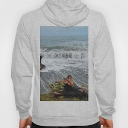 Sea and driftwood mix it up Hoody