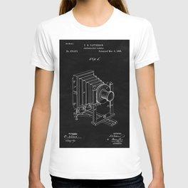 Vintage Camera Blueprint Sheet One T-shirt