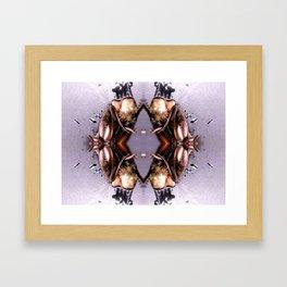 Cricket Rorschach Framed Art Print