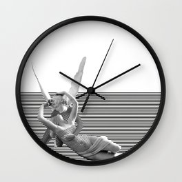Psiche and Cupid Wall Clock