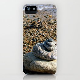 Pebble Stack iPhone Case