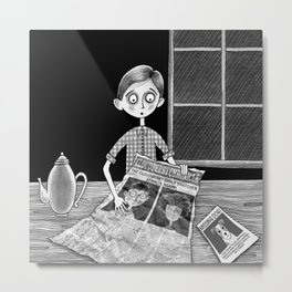 The missing Children Metal Print