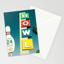 Linbrook Bowl - Anaheim, CA Stationery Cards
