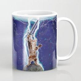 Lightning Cat Coffee Mug
