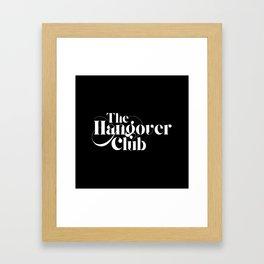 The Hangover Club Framed Art Print