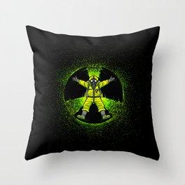 Radioactivity Angel Throw Pillow