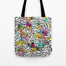 Gemstone Pugs Dogs Tote Bag