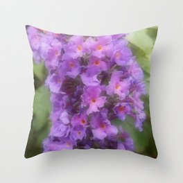 Buddleia Power Throw Pillow
