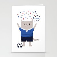sports Stationery Cards featuring Sports Cat by The Cat