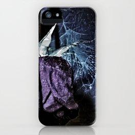 Love Song - Midnight Velvet (Grey) 0351B iPhone Case