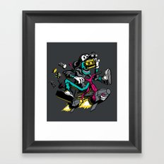 JOY RIDE! Framed Art Print