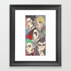 Fantastic Baby Framed Art Print