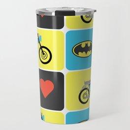 The Bike & The Bat Travel Mug