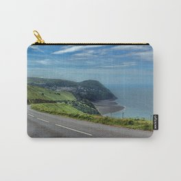 Lynmouth Bay, Devon, England Carry-All Pouch