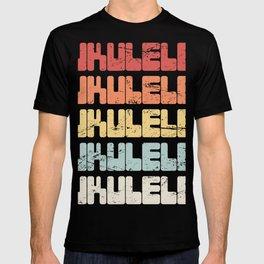 Vintage 70s UKULELE Design T-shirt