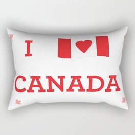 I heart Canada Rectangular Pillow