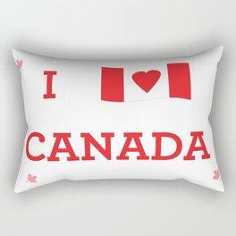 I heart Canada Rectangular Pillow