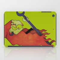 witch iPad Cases featuring Witch by Iribú