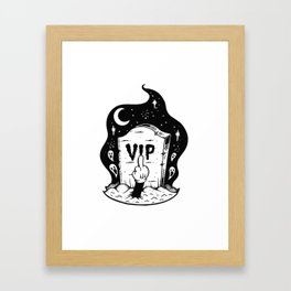 VIP Framed Art Print