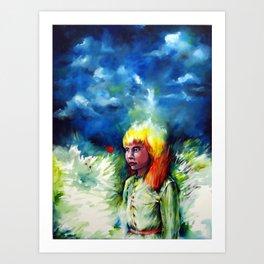 Inner Field. Art Print