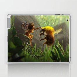 Faerie and Bee Laptop & iPad Skin