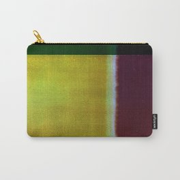 Yellow & Maroon Carry-All Pouch