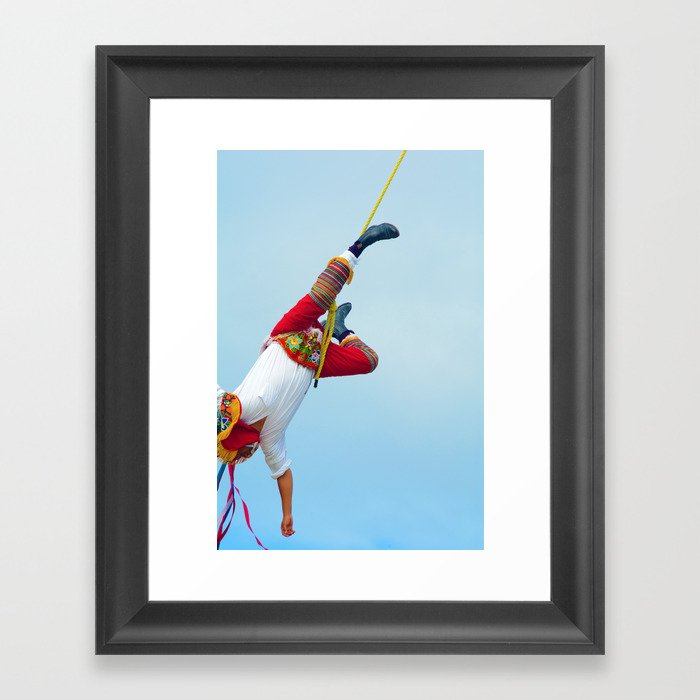 Flying artist colelction _06 Framed Art Print