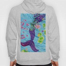 Floral Mermaid Hoody