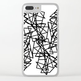 Chaos Clear iPhone Case