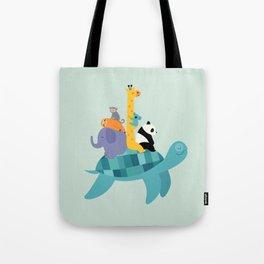 Travel Together Tote Bag