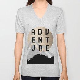 Adventure Golden Sunrise Unisex V-Neck
