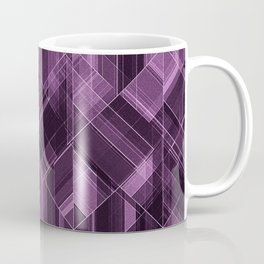 Abstract violet pattern Coffee Mug