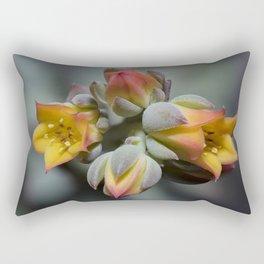 Succulent Blossom Rectangular Pillow