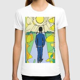 Aaron  Alter `Solar Rays'              by Kay Lipton T-shirt