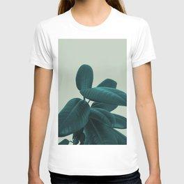 Ficus Elastica #8 #GreenLily #decor #art #society6 T-shirt